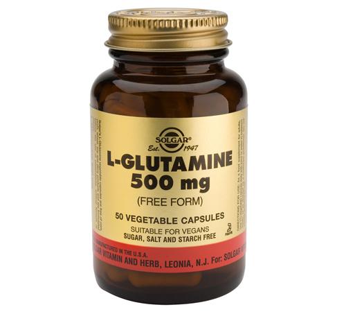 L Glutamina de Solgar