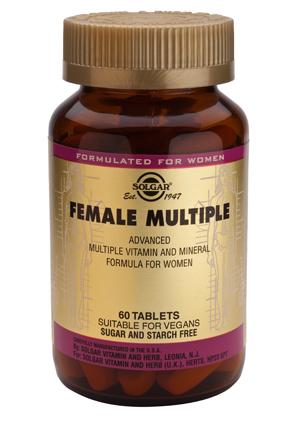 Solgar Recomienda Multinutrientes Mujer