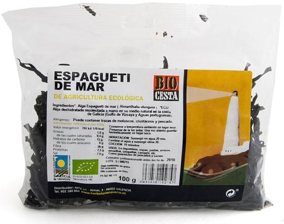Alga Espagueti de Mar - Dietética Natural