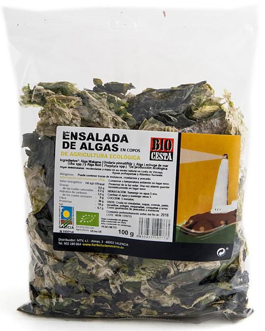 Alga mezcla ensalada - Dietética Natural