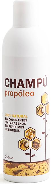 Champú Propóleo, remedios naturales para el pelo