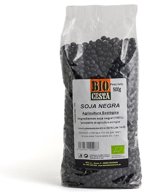 soja negra - Proteínas vegetales