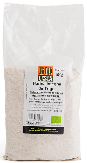 harina trigo Bio Cesta