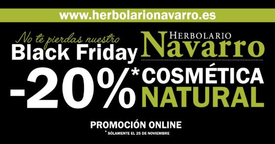 black friday herbolario navarro