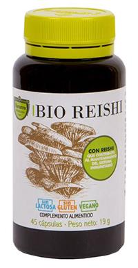 Producto Bio reishi cápsulas a base de hongos de Herbolario Navarro