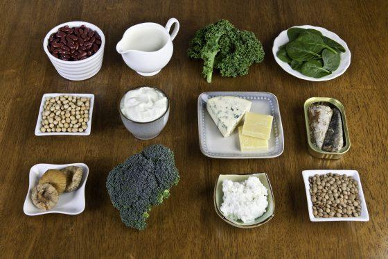 alimentos con mucho calcio
