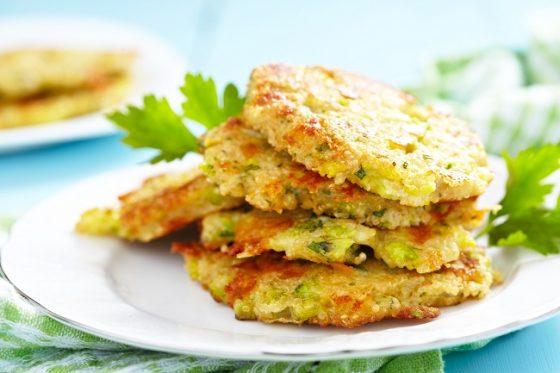 Tortitas de brocoli sanas