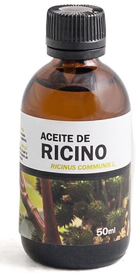 Aceite ricino para las pestañas