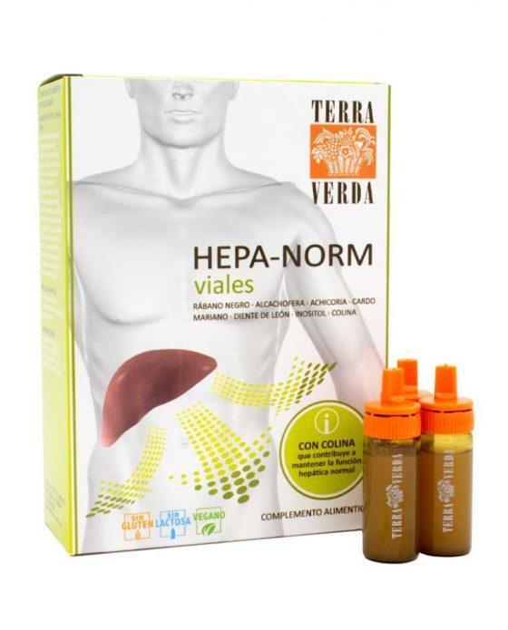 Hepanorm viales