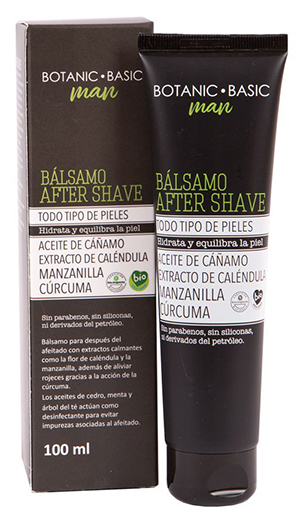 Bálsamo After Shave 100ml de Botanic Basic, Herbolario Navarro