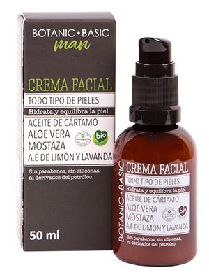 Crema Facial Hombre 50ml de botanic basic de Herbolario Navarro