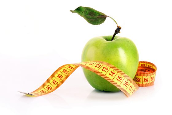 Manzana para prevenir la obesidad