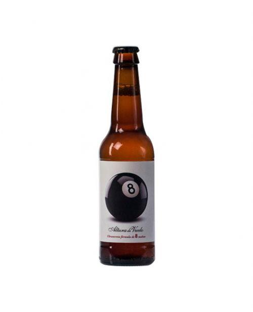 Cerveza ecológica bola 8