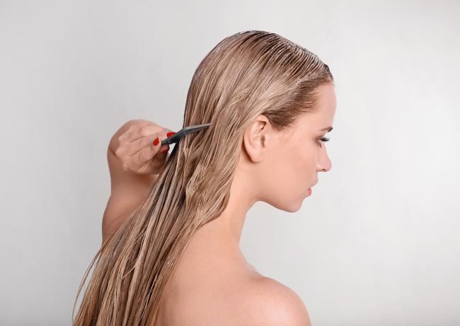 Mascarilla para el tratamiento de la caída del cabello