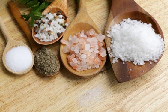 Tipos de sal que podemos encontrar