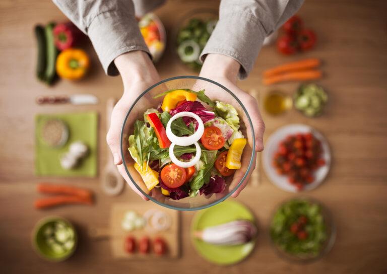Una buena alimentación mejora el medio ambiente.